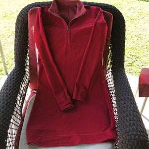 Tommy Bahama red reversible dress